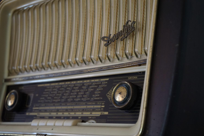 La vecchia radio dei Nonni Ernesto e Noemi