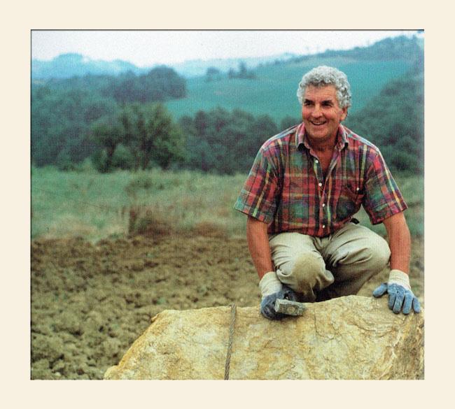 Giancarlo e le antiche pietre